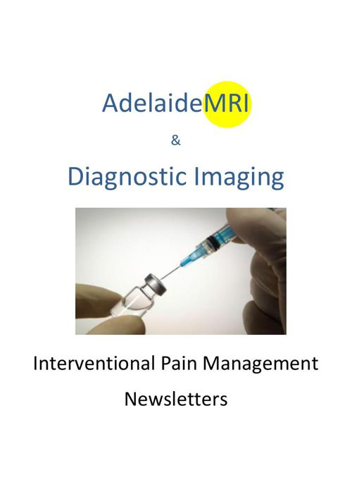 Interventional Pain Management Newsletters