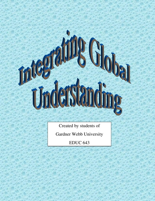 Copy of Copy of Copy of Integrating Global Understanding