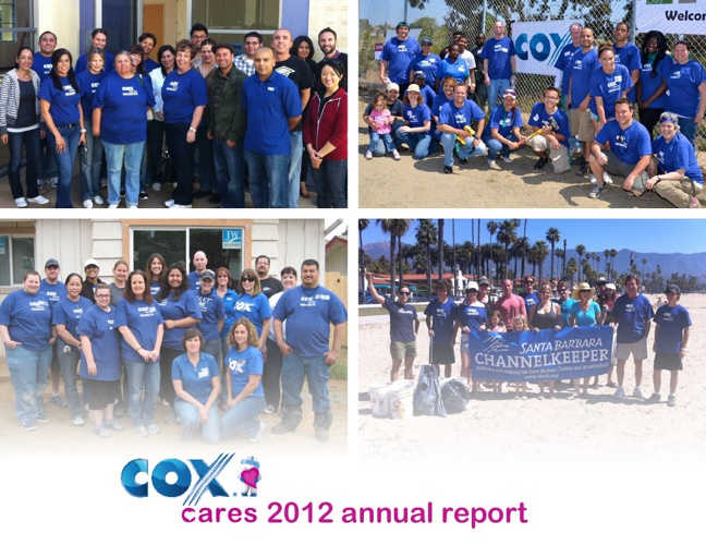 Cox Cares - 2012 Annual Report