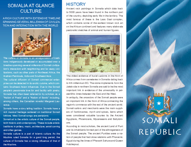 Brochure About Somalia