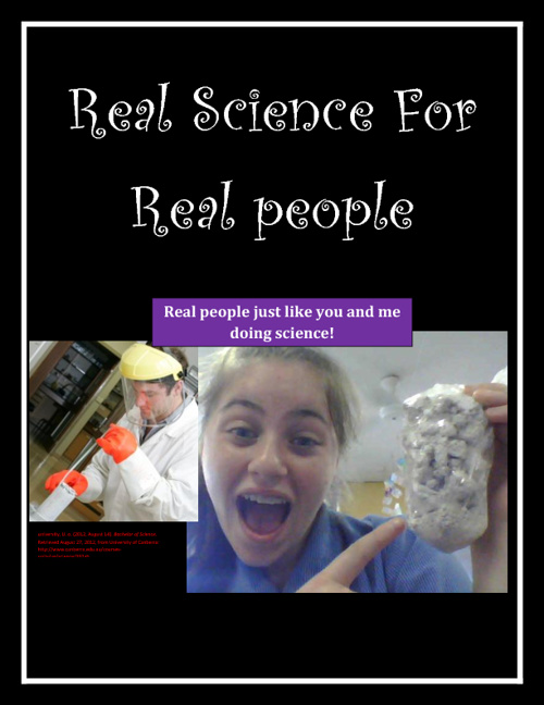 Real science for Real people ebook