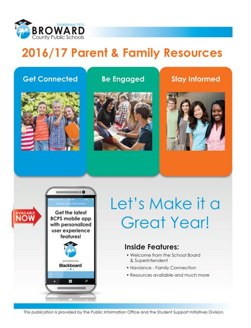 Parent & Family Resources 2016-17