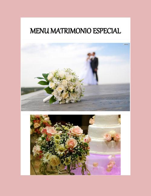 cotizacion matrimonio