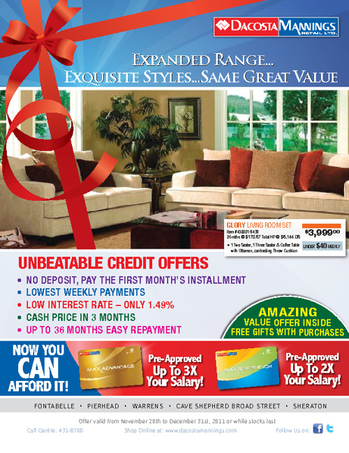 KYC Furniture Flyer