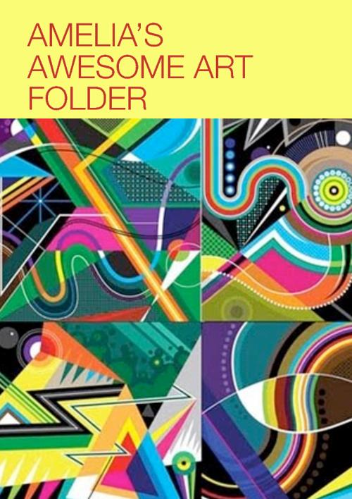 Amelia's Design art folder