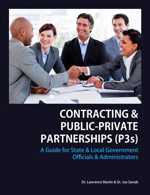 CONTRACTING & PUBLIC-PRIVATE PARTNERSHIPS