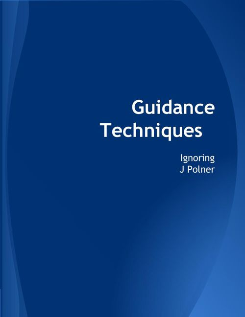Guidance Techniques