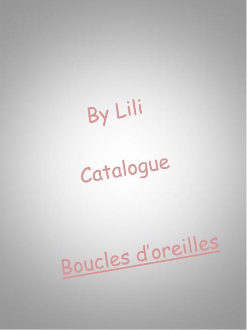 Catalogue By Lili_Boucles d'oreilles