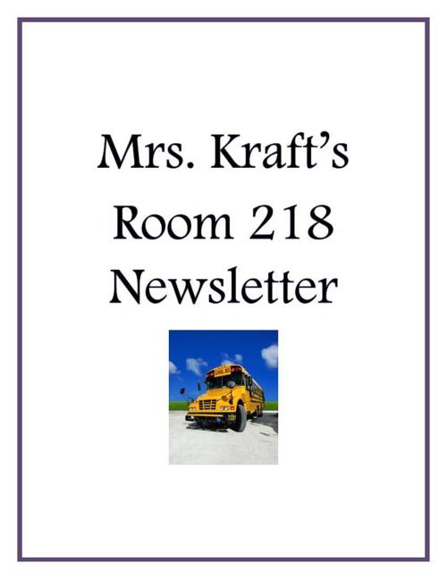 Copy of Mrs Kraft