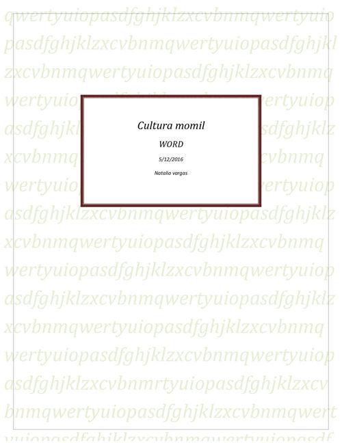 Cultura Momil