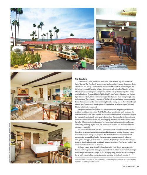 Santa Barbara Arroyo Monthly