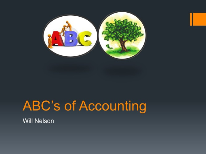 ABC's of Accounting-WillN