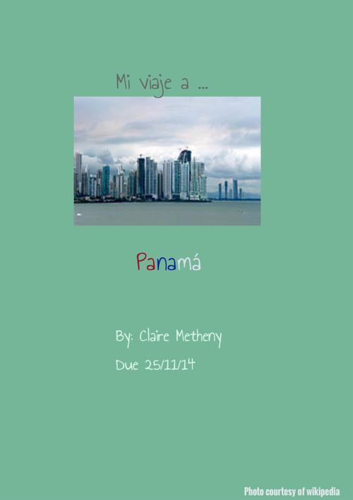 My trip to Panama