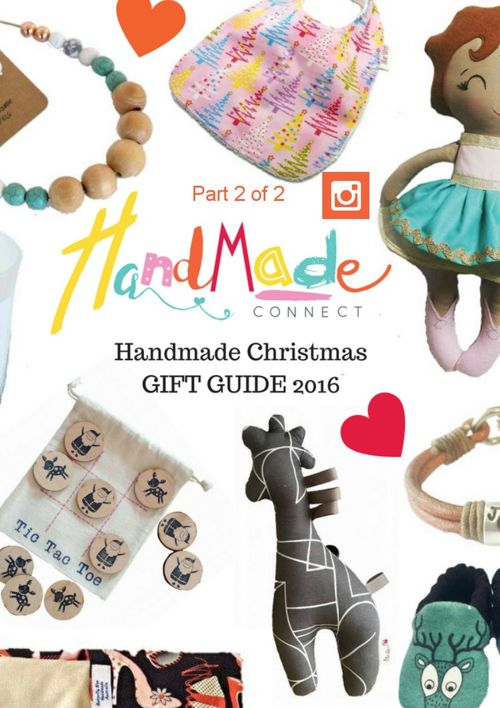 Handmade Connect Handmade Christmas Gift Guide Part 2 of 2
