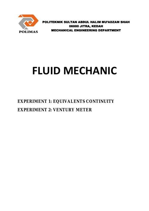 fluid machanic