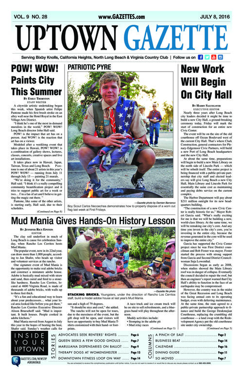Uptown Gazette  |  July 8, 2016