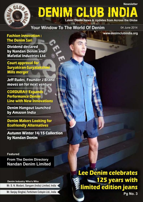 Denim Club News Letter 4 June 2014