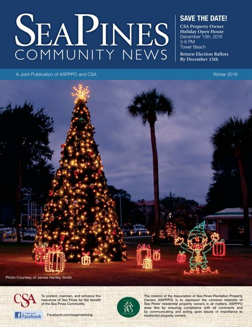 Sea Pines Community News Winter 2016