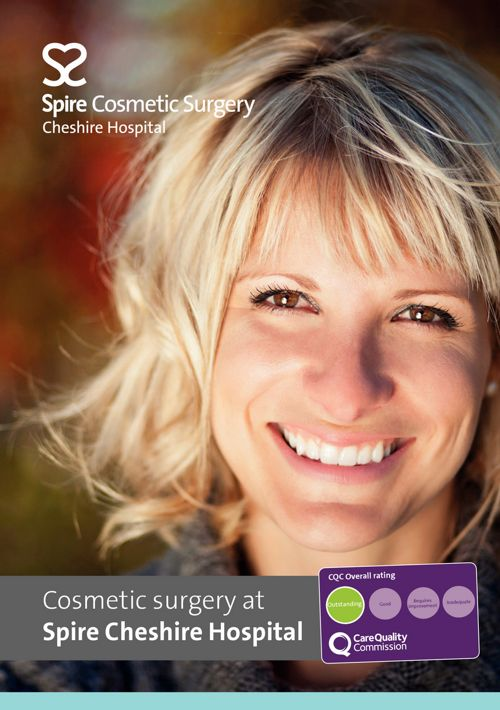 Cosmetic surgery at Spire Cheshire Hospital