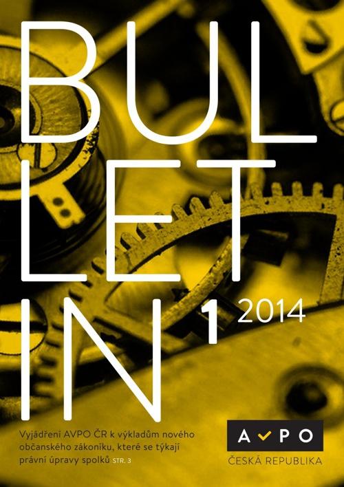 Bulletin AVPO ČR 1/2014