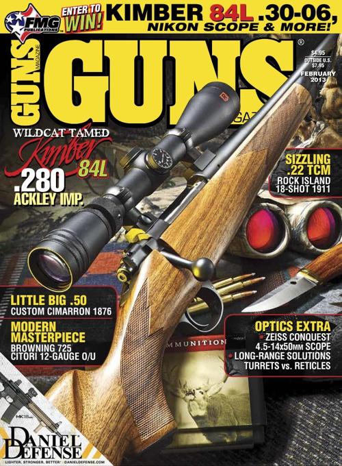 Guns Magazine Febrero 2013