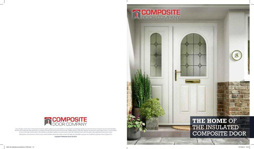 Composite Door Company Online Retail Brochure