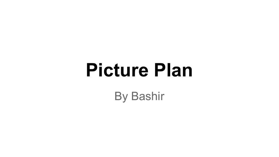picture plan