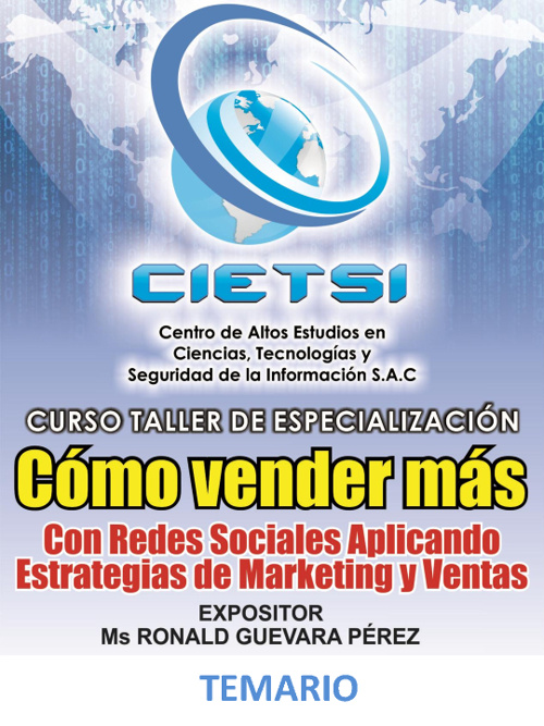 Curso Taller de Marketing y Ventas