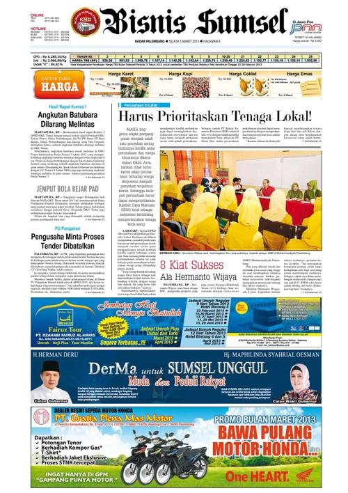Radar Palembang Edisi 05-03-2013 Koran 2