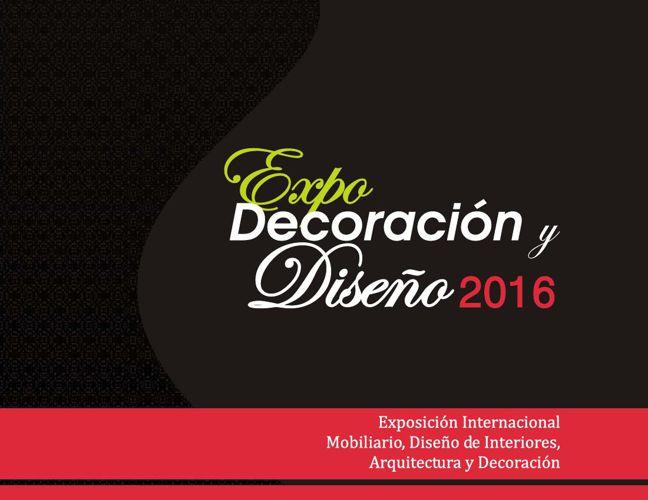 Pre-Venta Expo Decoración y Diseño 2016