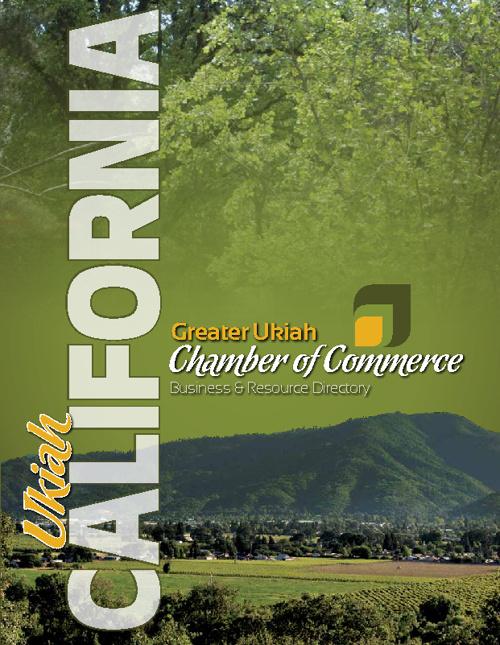 Ukiah Chamber of Commerce Directory 2012