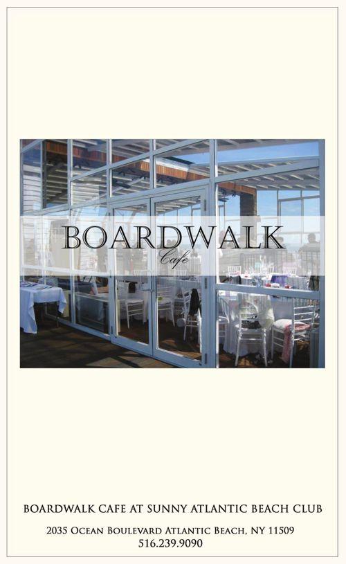 Boardwalk Cafe at Sunny Atlantic Beach Club