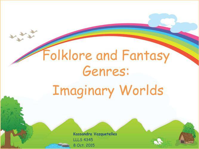 Folklore&ModernFantasy
