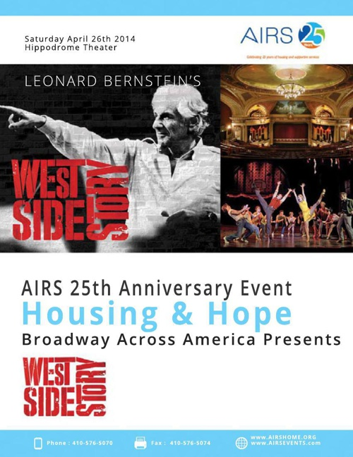 AIRS 25th Anniversary Event at Hippodrome - West Side Story