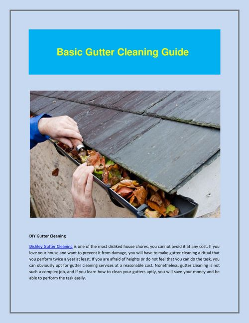 Dishley Gutter Cleaning