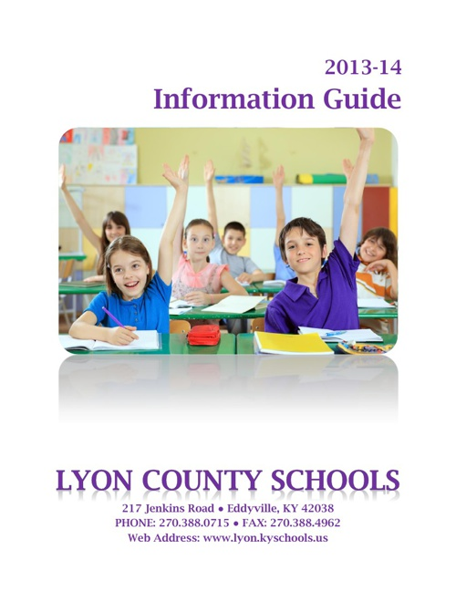 Household Information Guide 2013-14