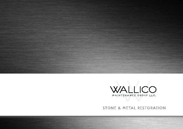 Wallico Brochure