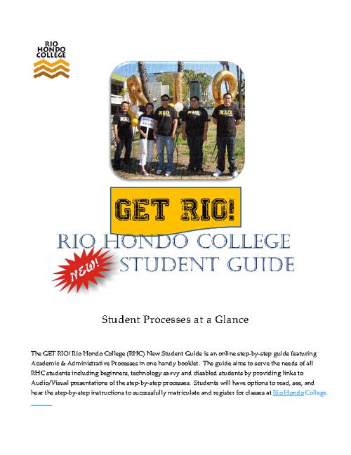 GetRIO! New Student Guide F12