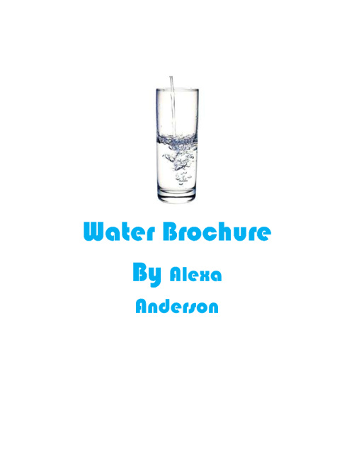 Alexa Water Brochure