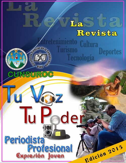 Revista Tu Voz Tu Poder CUNSUROC 2015