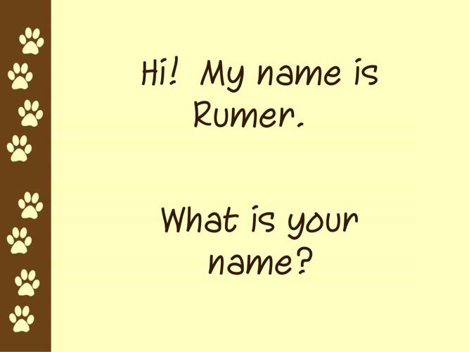Rumer book English