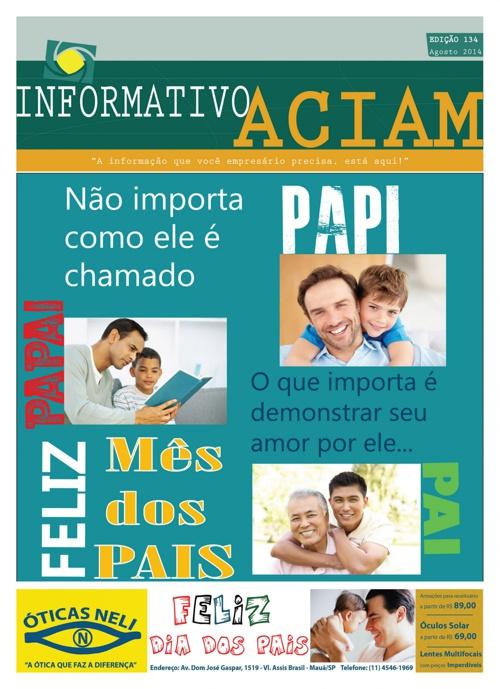 Informativo Aciam 134 08/2014