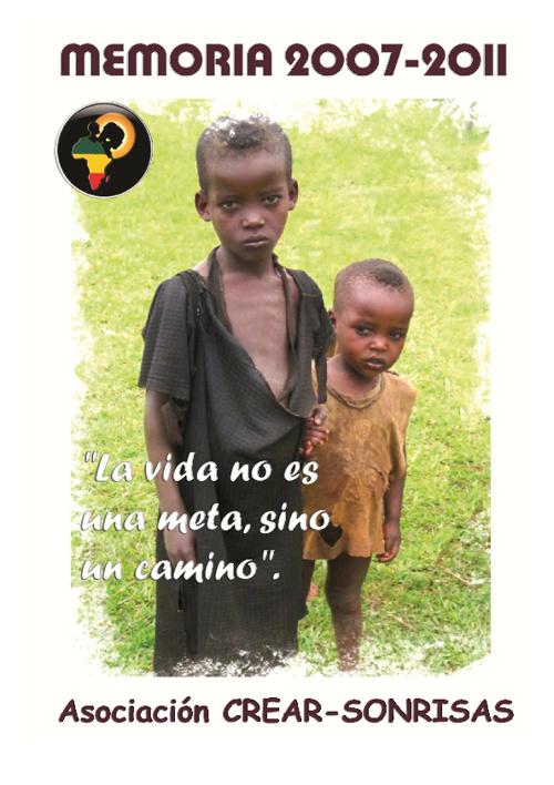 Memoria ONG CREAR-SONRISAS 2007-2011