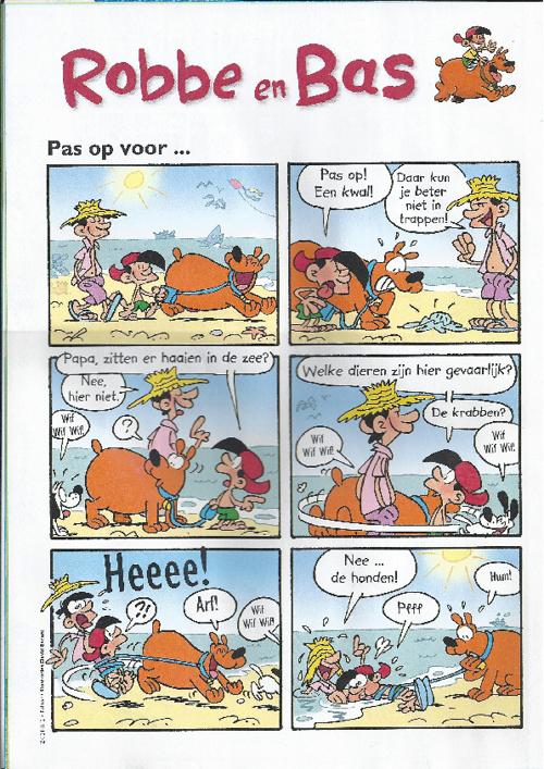 Robbe en Bas: Pas op voor...