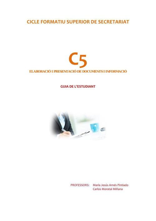 INFORMACIÓ ALUMNAT C5