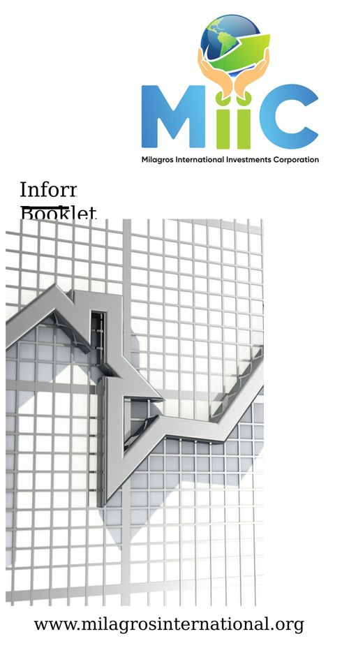 MIIC Information Booklet