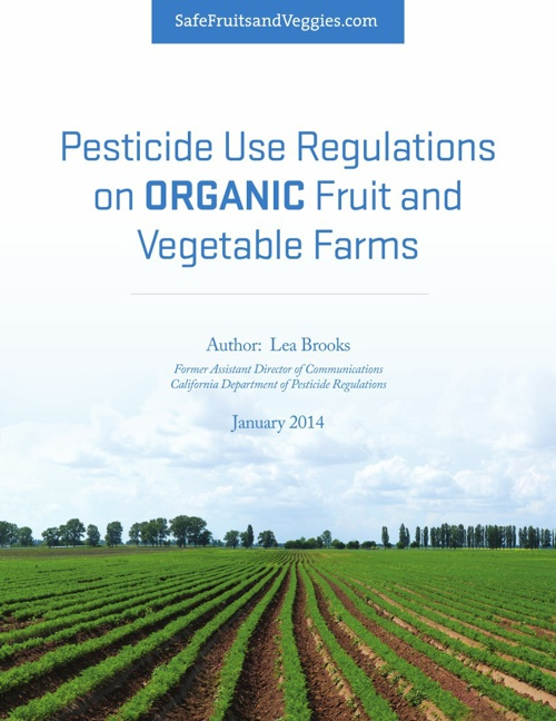 Pesticide Use Regulations on ORGANIC Fruit and Vegetable Farms