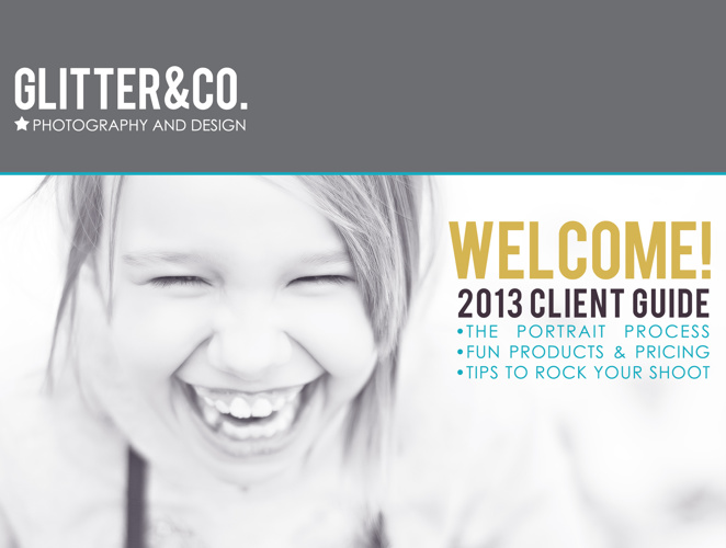 Glitter & Co. 2013 Client Guide