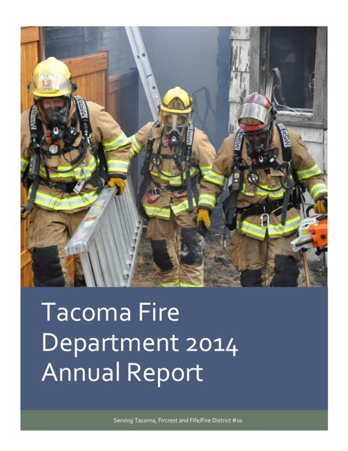Tacoma Fire Department 2014 Annual Report