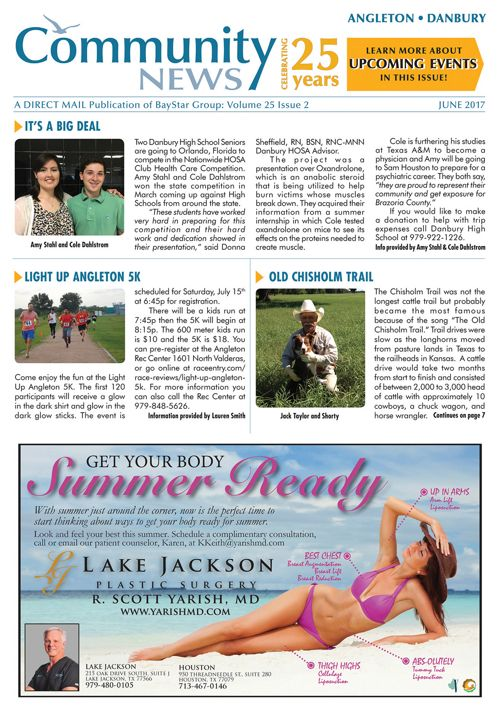 Angleton-Danbury Community News Volume 25 Issue 2